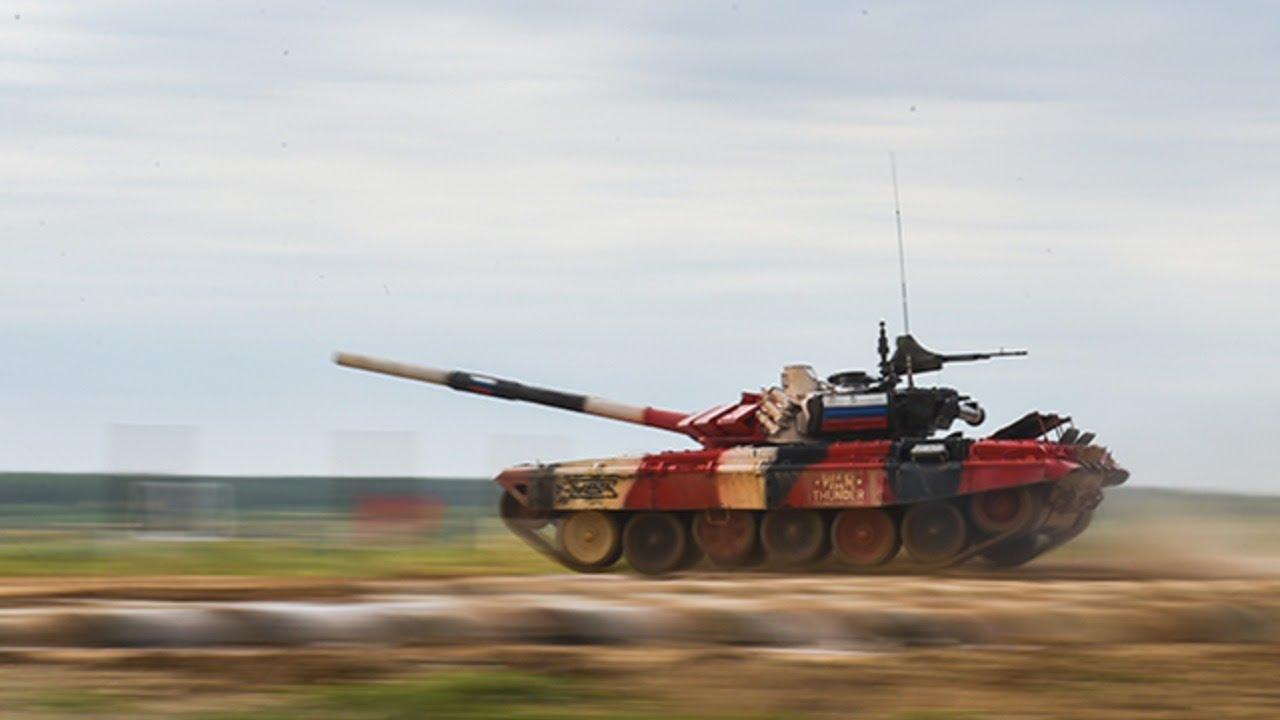 Финале тенковског биатлона