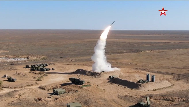 Велики маневри ПВО снага Централног војног округа