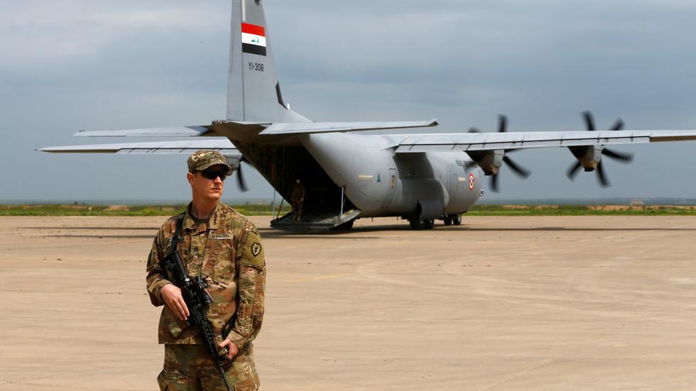 РТ: САД ће повући 2.200 војника из Ирака, потврдио Пентагон... али још неколико хиљада остаје