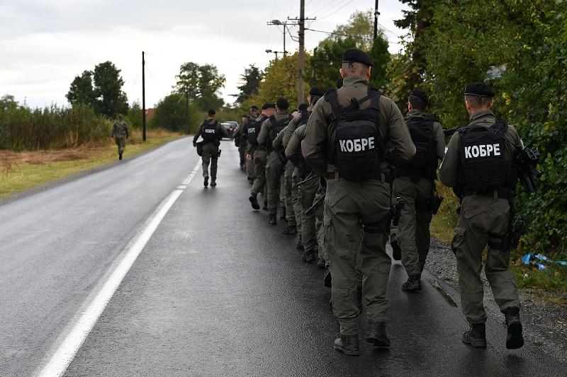 """Кондициони марш припадника Батаљона војне полиције специјалне намене """"Кобре"""