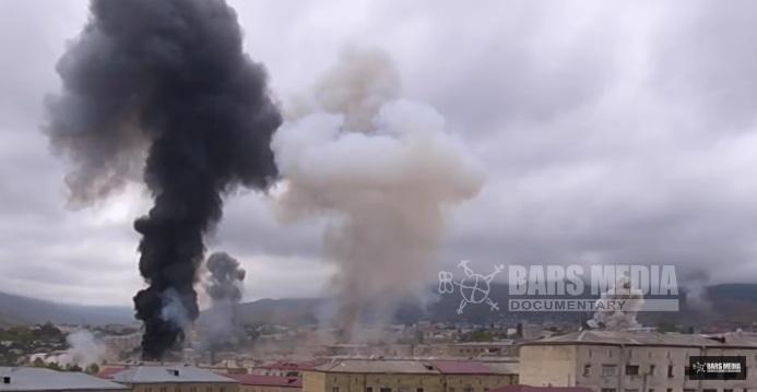 Жестоко бомбардовање главног града Нагорно Карабаха - Степанакерта
