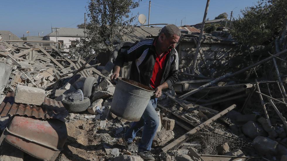 """РТ: Јерменија и Азербејџан прогласили """"хуманитарни прекид ватре"""" у Нагорно-Карабаху од недеље"""