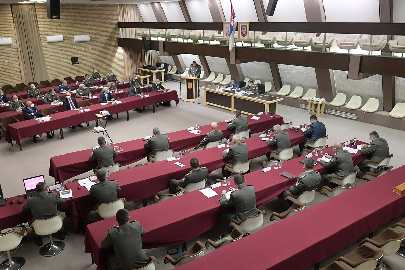 Заједничка седница Колегијума министра одбране и Колегијума начелника Генералштаба