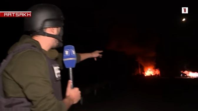 Азербејџанске снаге отвориле артиљеријску ватру на престоницу Нагорно-Карабаха