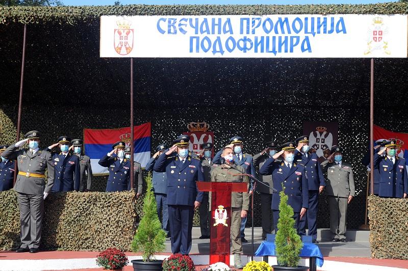 Свечана промоција подофицира Војске Србије