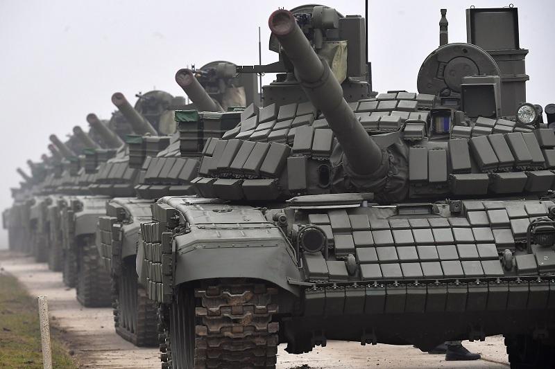 Vojska Srbije predstavila tenkove T-72 MS dobijene od Rusije