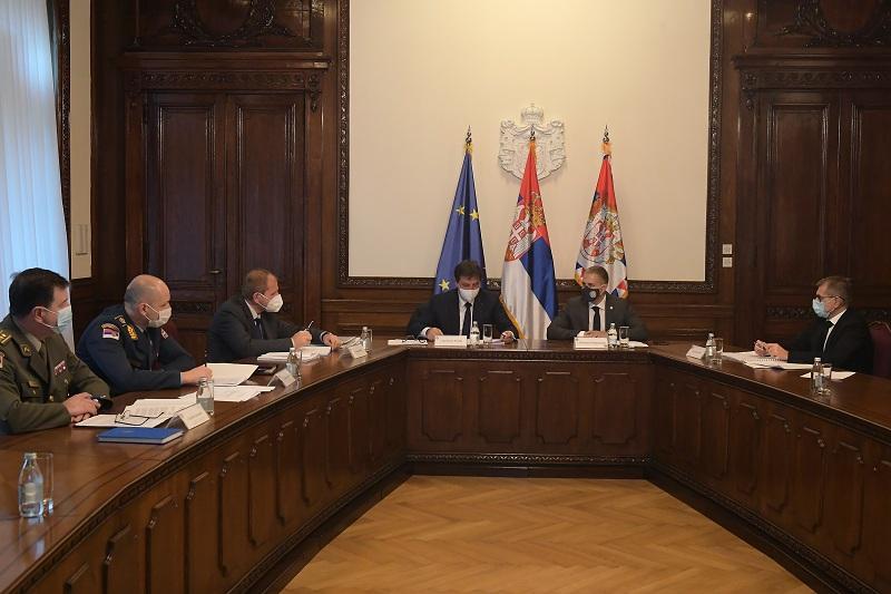 Одржана Седница Бироа за координацију служби безбедности