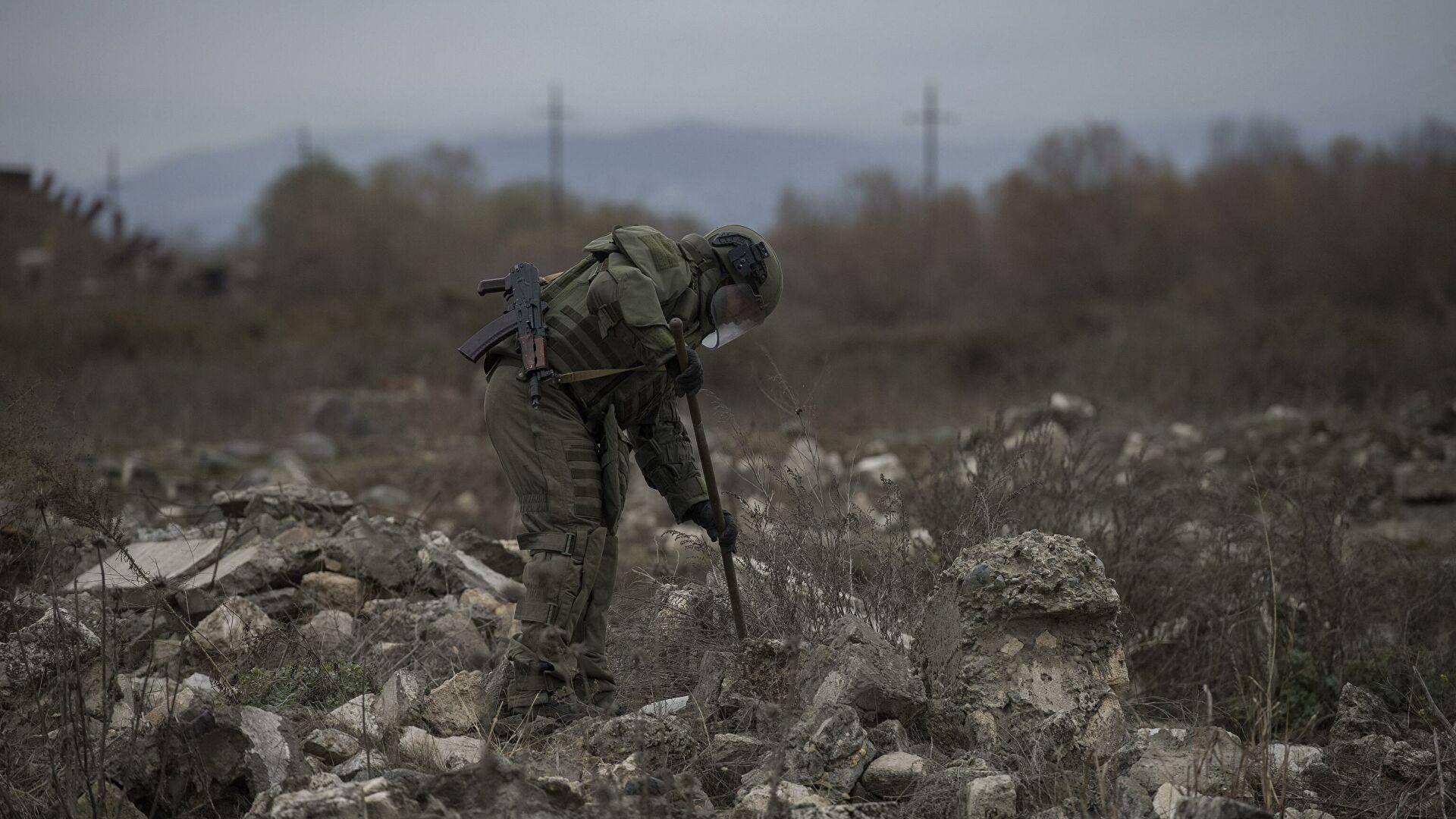 Руски деминери неутралисали више од 20 хиљада експлозивних средстава у Нагорно-Карабаху