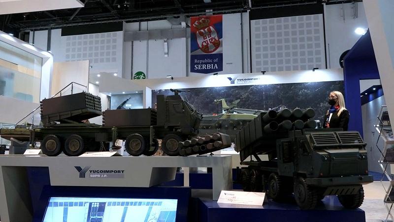 Србија представила наоружање и војну опрема на сајму у Емиратима