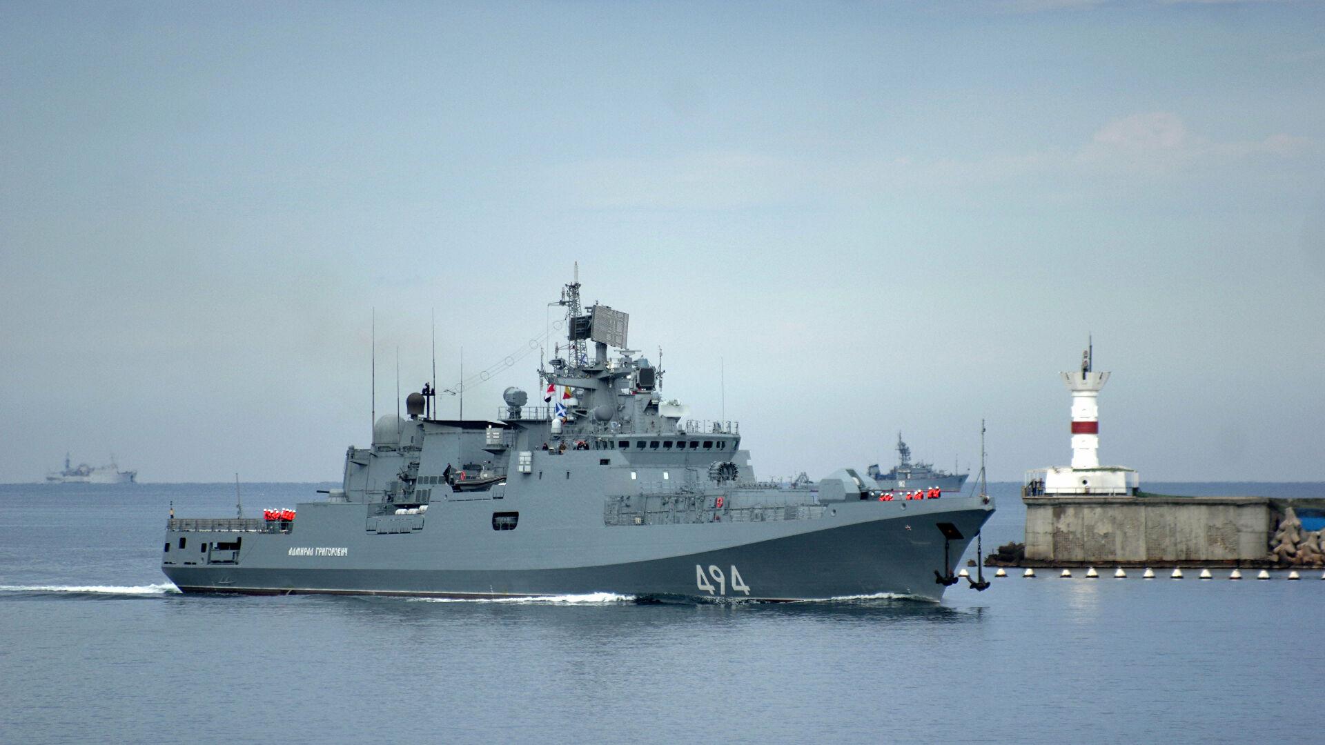 Први пут у модерној историји руска фрегата ушла у Порт Судан