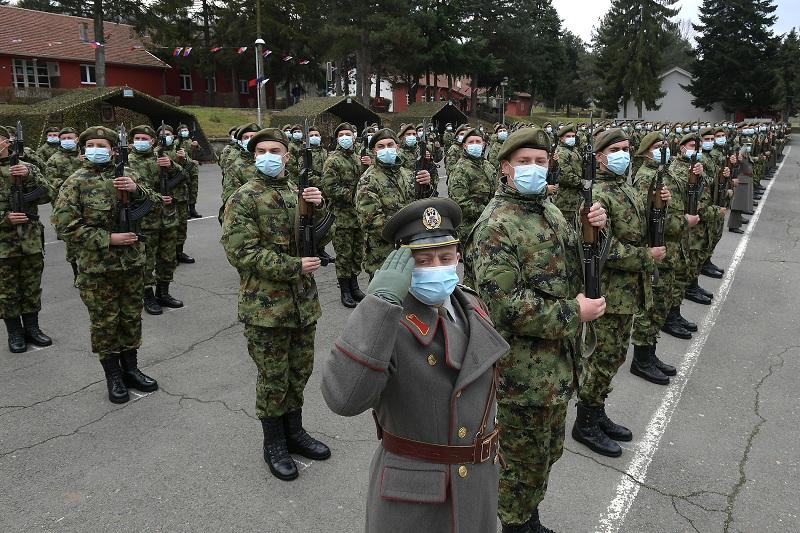 """Војници генерације """"март 2021"""" положили заклетву"""