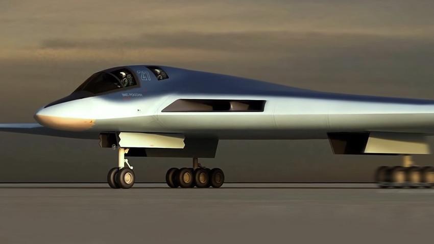 """Потврђено како ће изгледати најновији руски """"невидљиви"""" бомбардер ПАК ДА"""