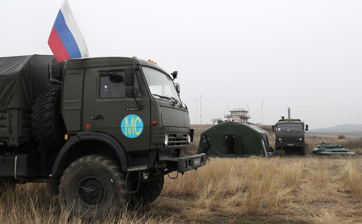 Руски војни камион наишао на мину у Нагорно-Карабаху