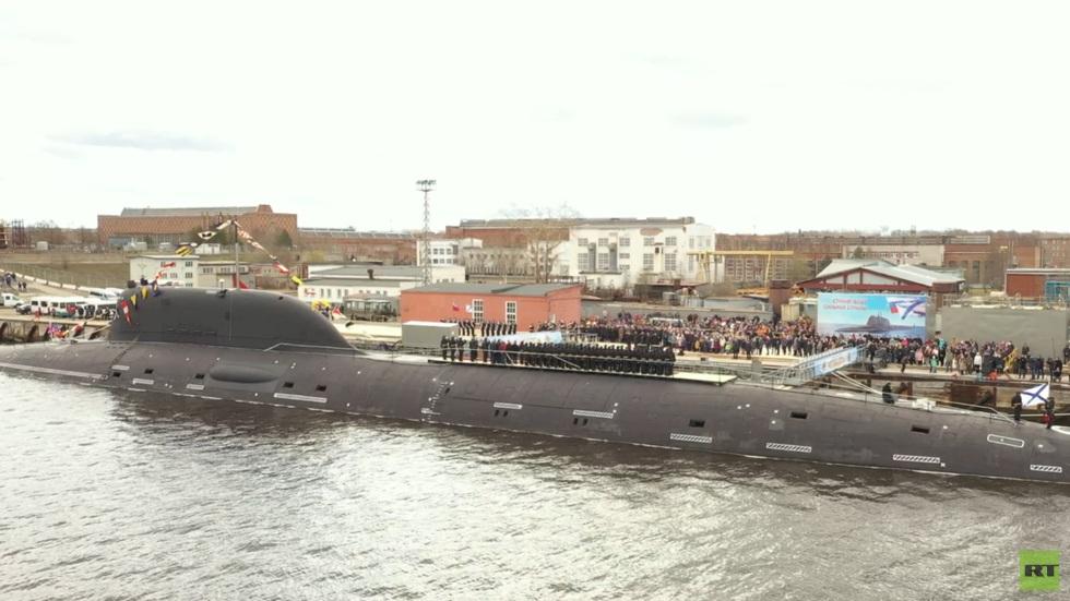 """РТ: Напредна подморница 4. генерације на нуклеарни погон """"Казањ"""" придружила се Северној флоти руске морнарице"""