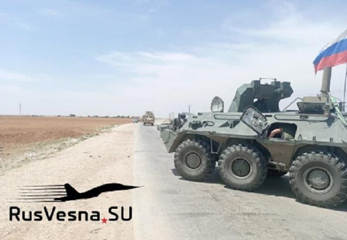 Ruska vojna policija blokirala i vratila nazad američki konvoj u Siriji