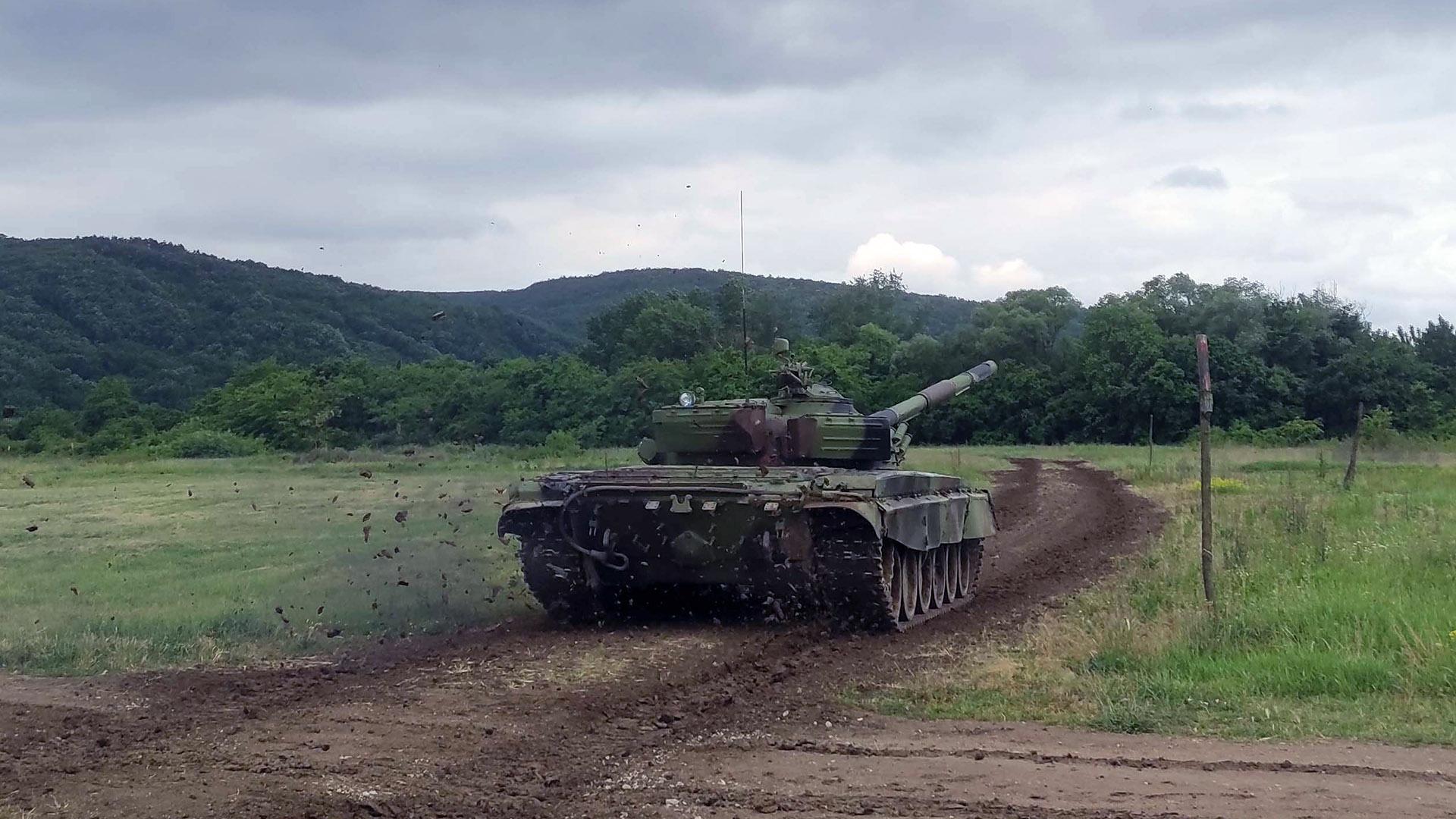 Припреме тенкиста Војске Србије за учешће на Међународним војним играма