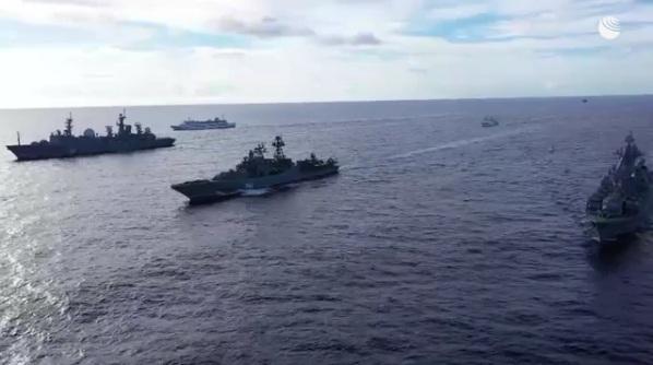 Маневри руске морнарице у Тихом океану