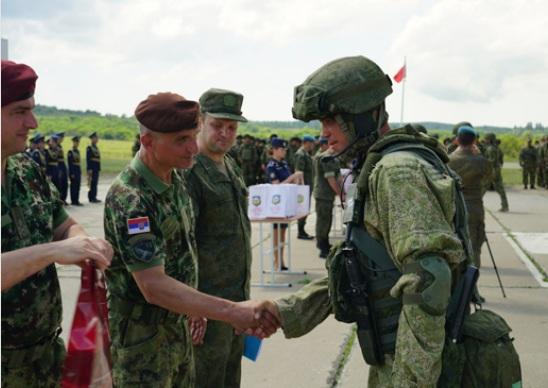 "Завршена руско-србско-белоруска вежба ""Словенско братство 2021"""