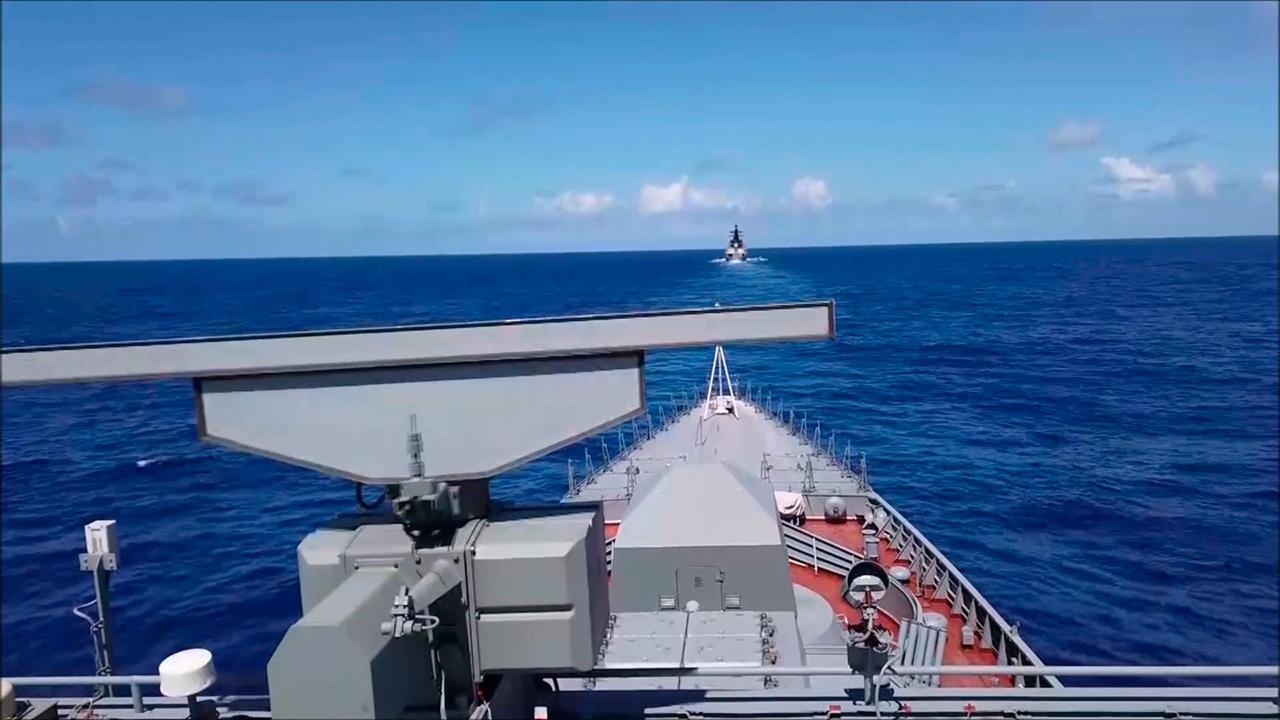 Тихоокеанска флота изводи вежбе у централном делу Тихог океана
