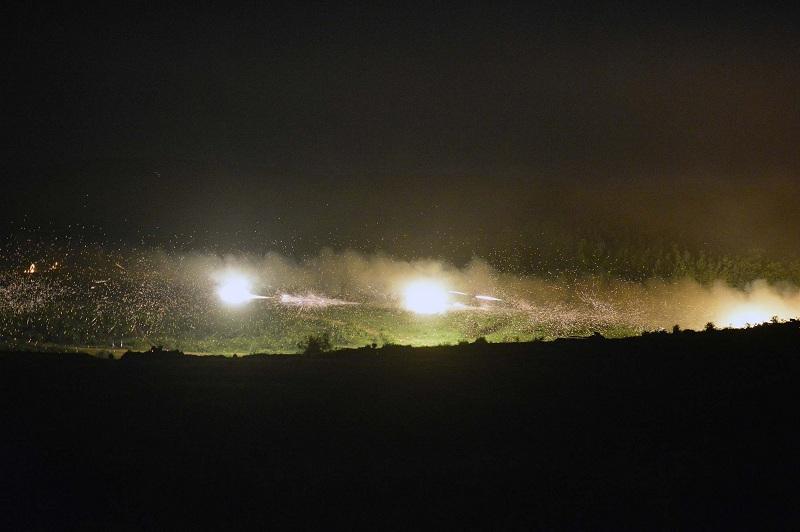 Војска Србије успешно извела највећу вежбу у ноћним условима