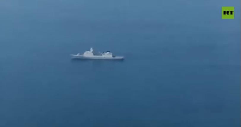 """РТ: Брод холандске морнарице пресретнут након скретања према руским водама, наводи Москва, док Амстердам осуђује """"опасан"""" прелет"""