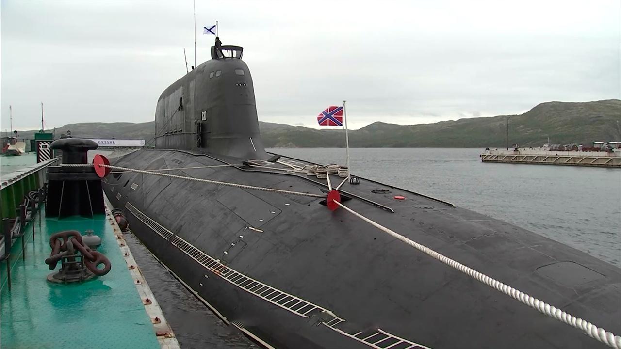 """Како изнутра изгледа најновија нуклеарна подморница """"Казањ"""""""
