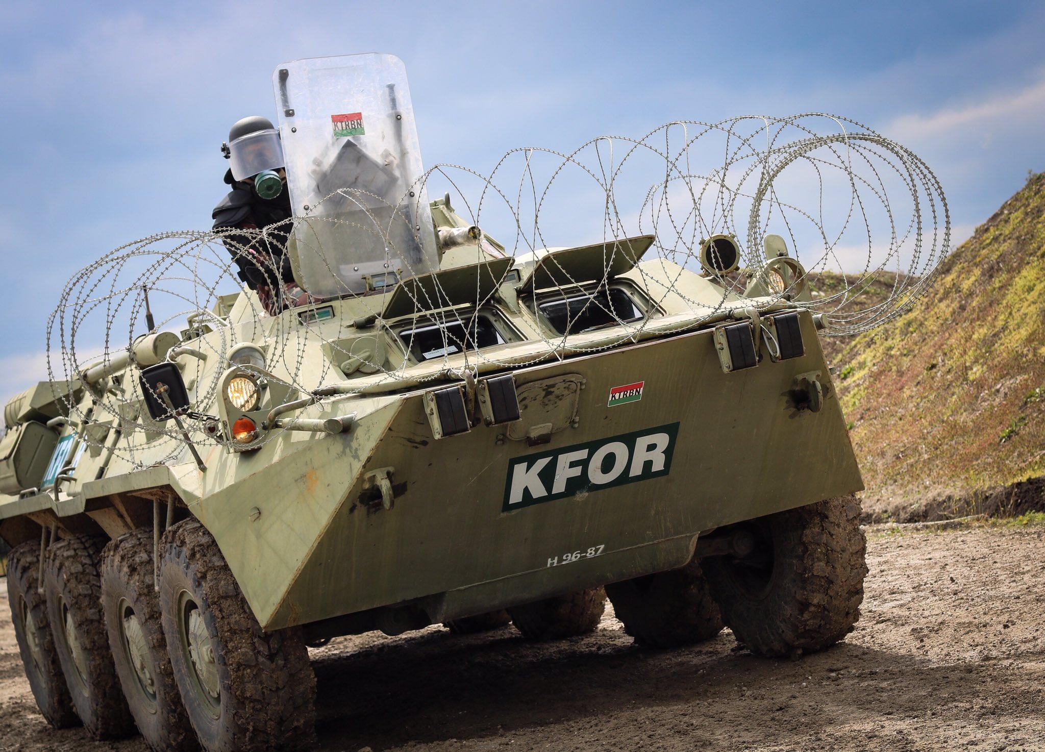 Вежба НАТО-а на Косову од 30. августа до 8. септембра