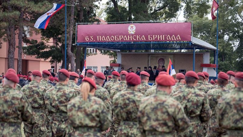 Обележавање Дана 63. Падобранске бригаде