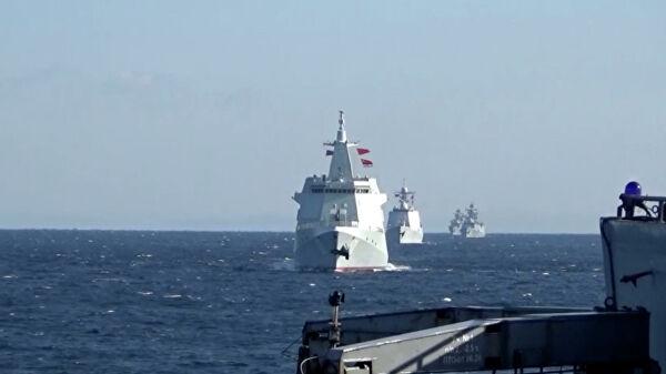 Ruski i kineski brodovi prvi put zajedno patrolirali Pacifikom