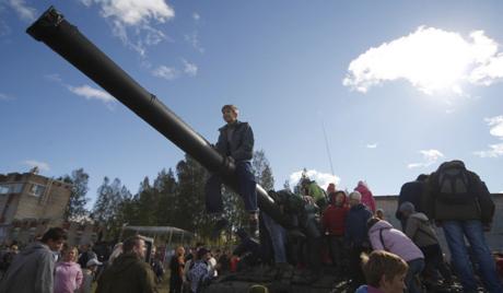 Русија се ослобађа тенкова Т-62