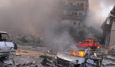 Četrdeset žrtava bombardovanja na severu Sirije