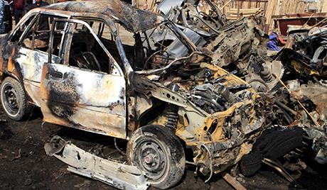 Серија терористичких напада у Ираку