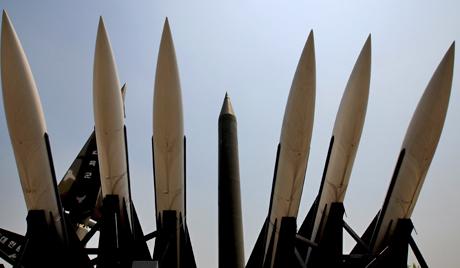 Ракете Скад на истоку ДНРК спремне за лансирање
