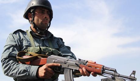 Покољ у полицијској станици у Авганистану