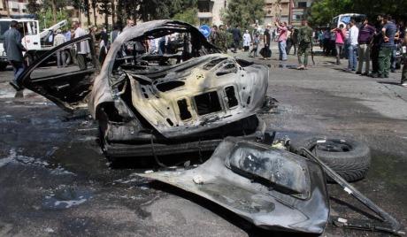 Јака експлозија у центру Дамаска