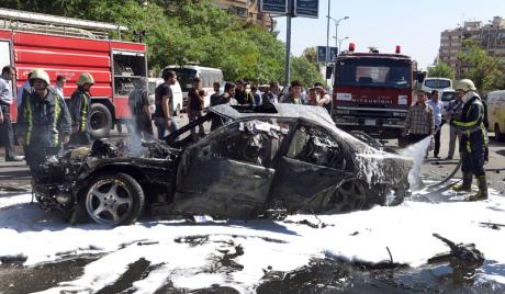 Експлозија на прометном тргу Дамаска: Јара Салех са лица места