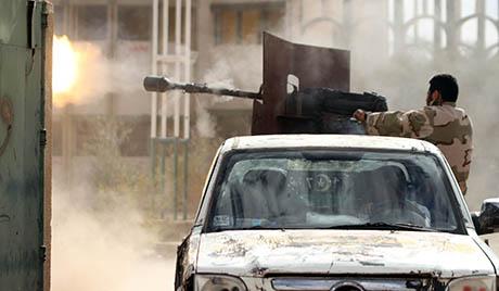 Група наоружаних заузела Министарство правде Либије