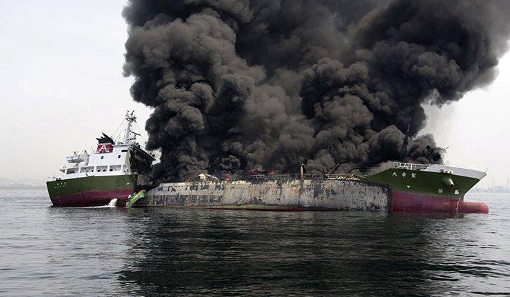Танкер експлодирао поред обала Јапана