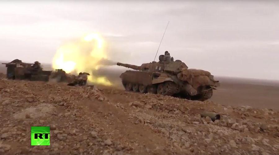 Сиријска војска уз помоћ руске авијације ослободила Палмиру