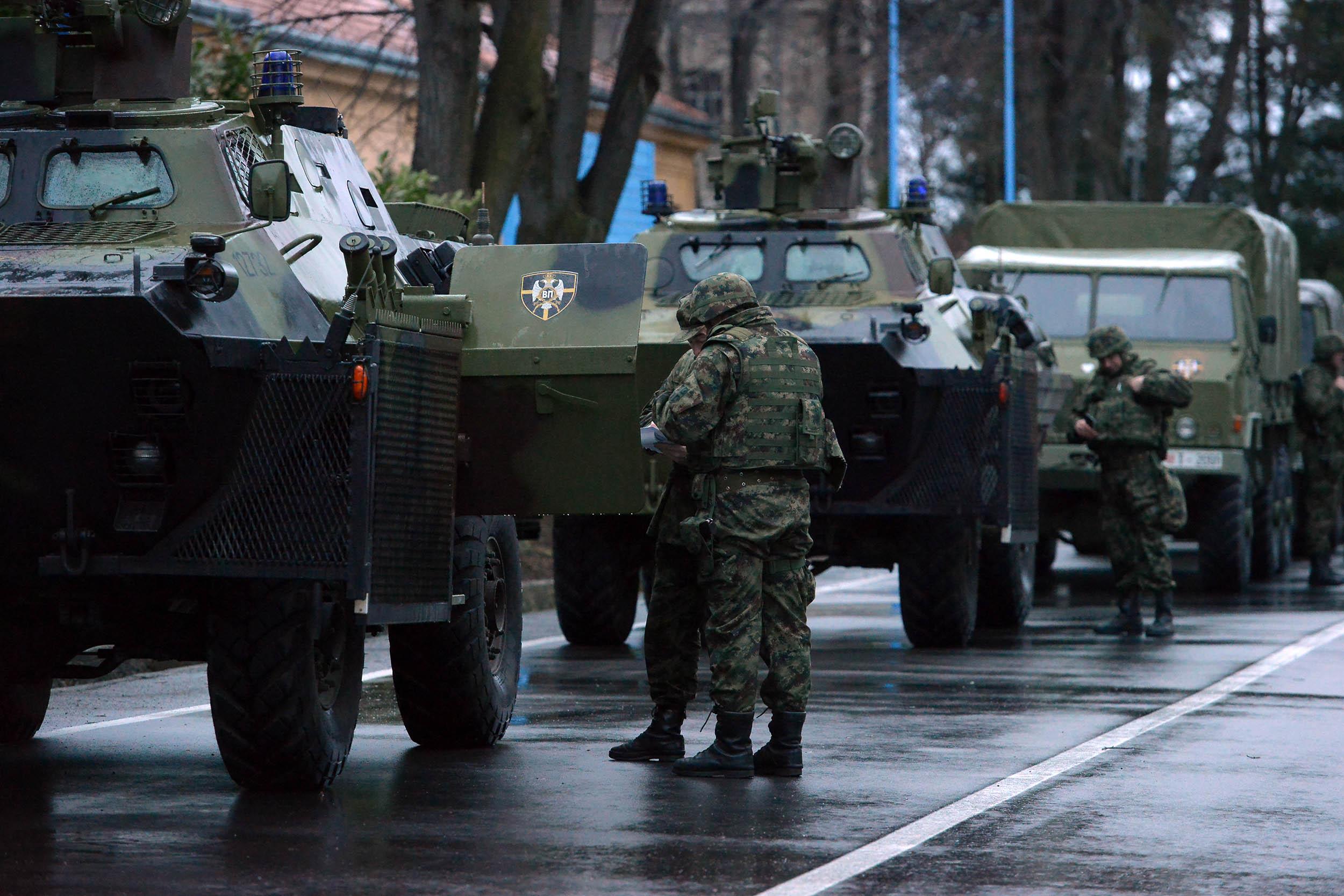Провера снага Војске Србије за хитно реаговање