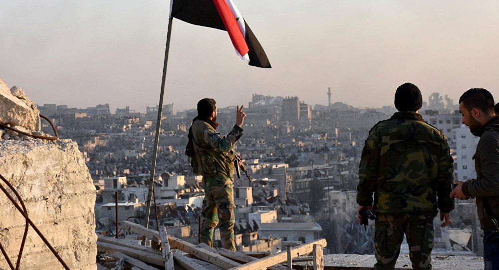 Сиријска војска повратила контролу над областима Дамаска