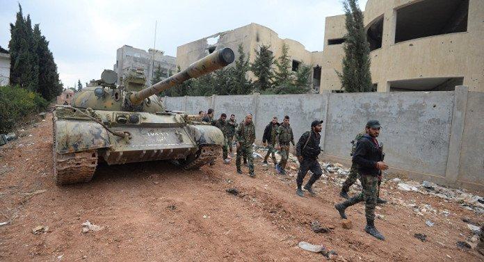 Напредовање сиријске војске у провинцији Алеп