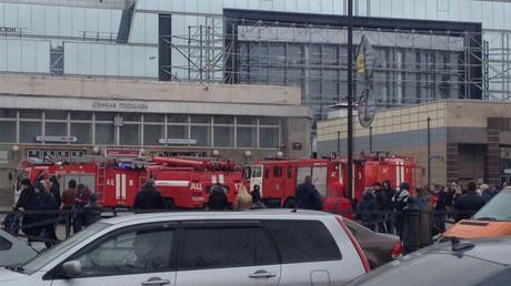 Експлозија у метроу у Санкт Петербургу