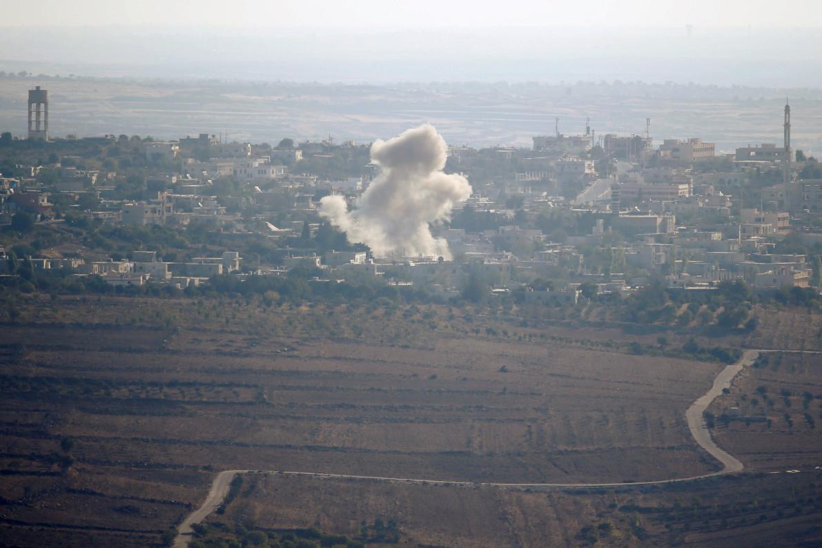 Израел поново бомбардовао Сирију