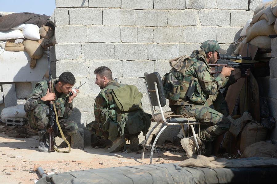 Напредовање сиријске војске у Хами