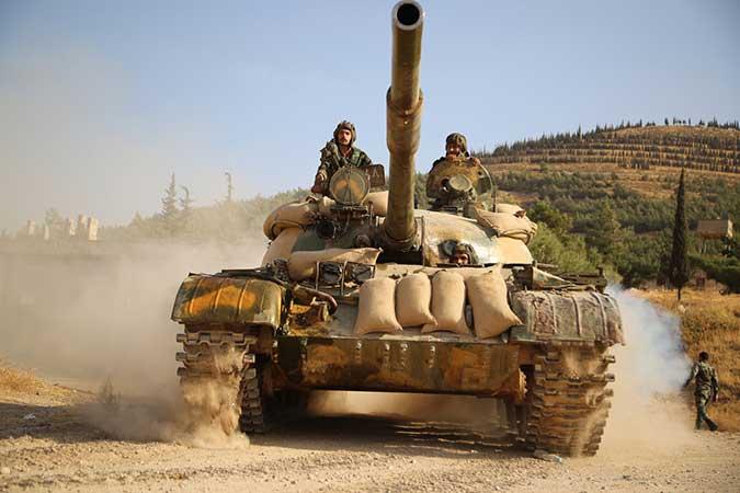 Сиријске снаге истерале терористе из насеља Халфаја на северу провинције Хама