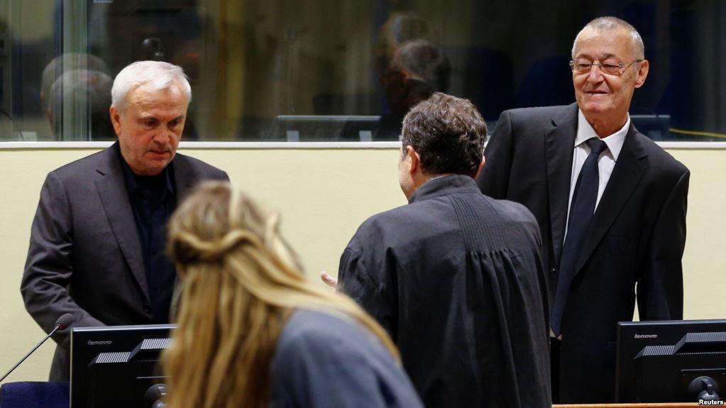 Трибунал у Хагу одобрио Станишићу и Симатовићу пуштање на привремену слободу
