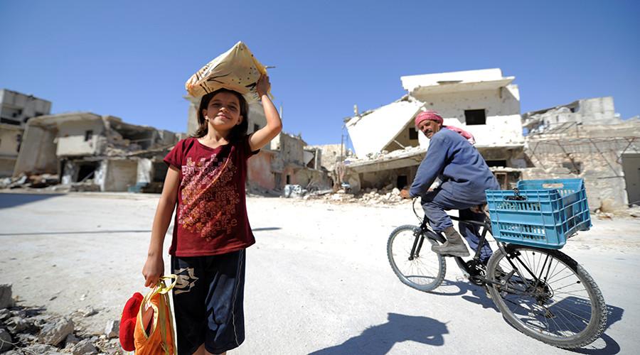 РТ: Стотине хиљада сиријских избеглица се враћа у ослобођени Алепо