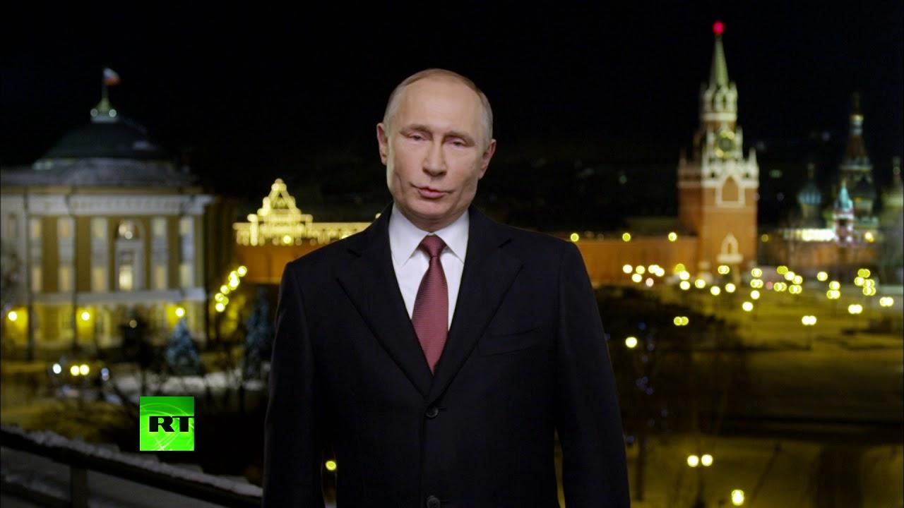Novogodišnja čestitika predsednika Putina