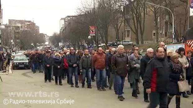 Косовска Митровица – испраћај тела Оливера Ивановића